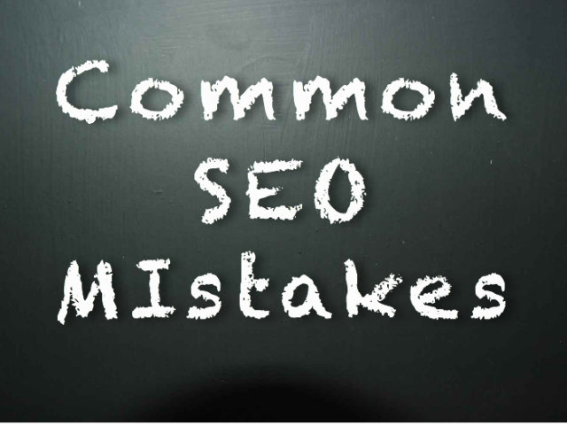 common mistakes seo